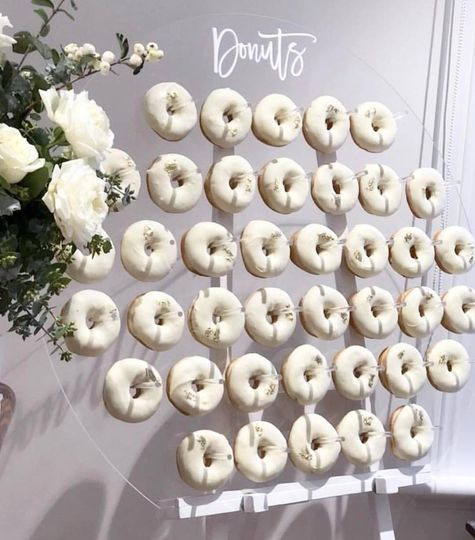 Modern Donut Display