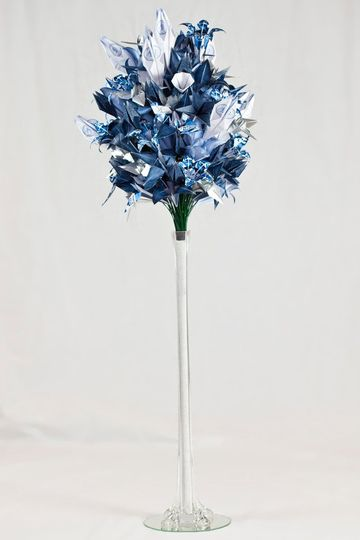 "Large Bouquet made for the American Bridal Consultant's show November 2012 themed ""Diamonds and..."