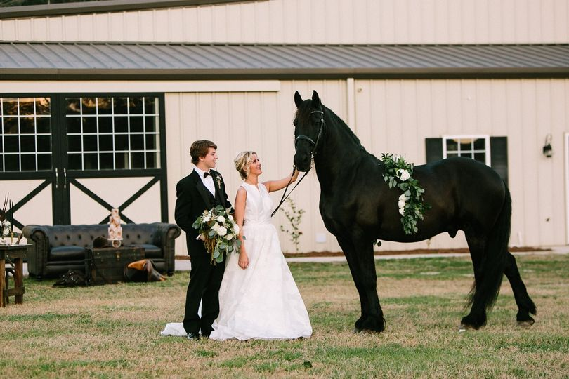 Couple at The Stables
