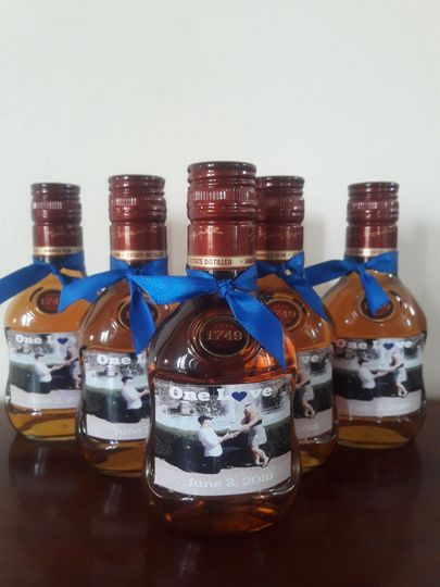 Custom labels on Appleton Rum