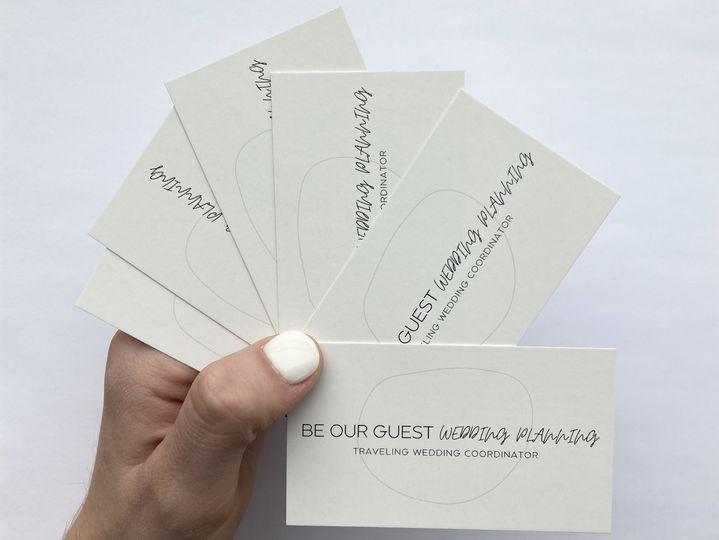 Got business cards?