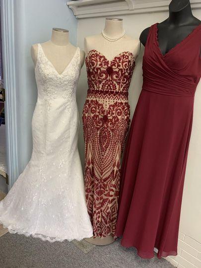 Bridesmaid dresses too!!!