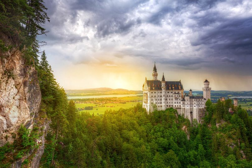travel europe bavaria fairytale castle