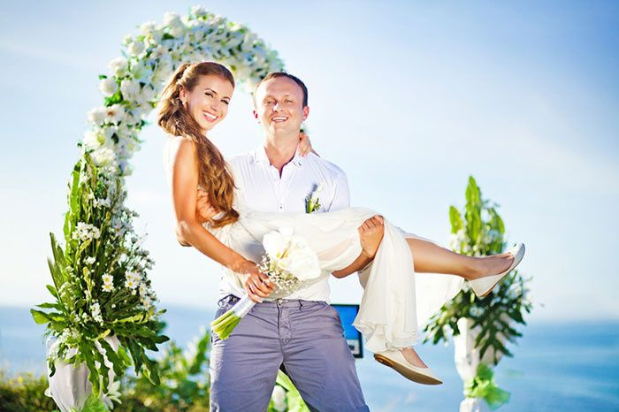 travel romance destination wedding beach