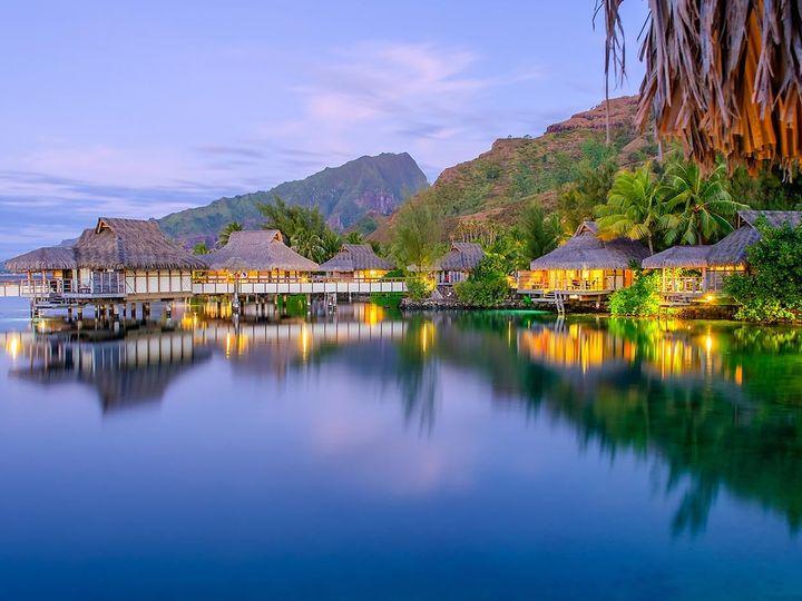 Tmx 1448386381593 Travel South Pacific Tahiti Overwater Bungalow East Brunswick wedding travel