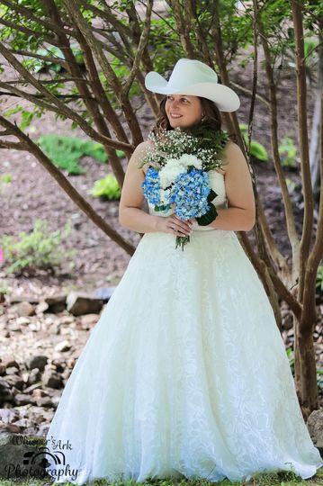 Tree bridal pose
