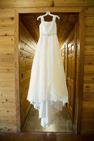Bride's drress