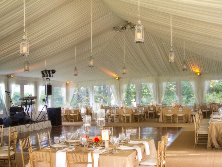 Tmx 1455052726791 White Structure Tent With Champagne Fabric Boyds, District Of Columbia wedding rental
