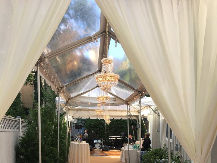 Tmx Entrance Marquee With French Empire And French Rounded Chandeliers 51 162373 160795947277218 Boyds, MD wedding rental