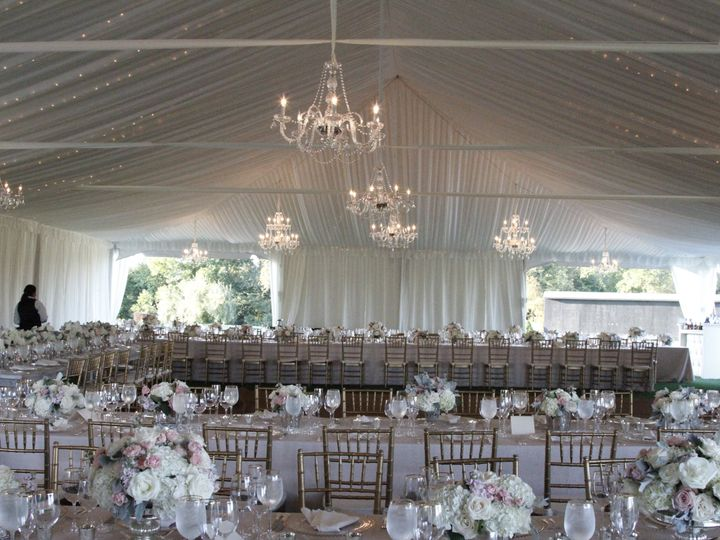 Tmx Frame Tent With White Tent Liner And Crystal Chandeliers 51 162373 160795947323757 Boyds, MD wedding rental