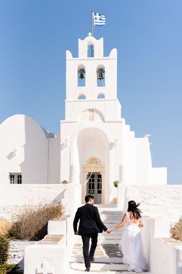 Wedding at Sifnos