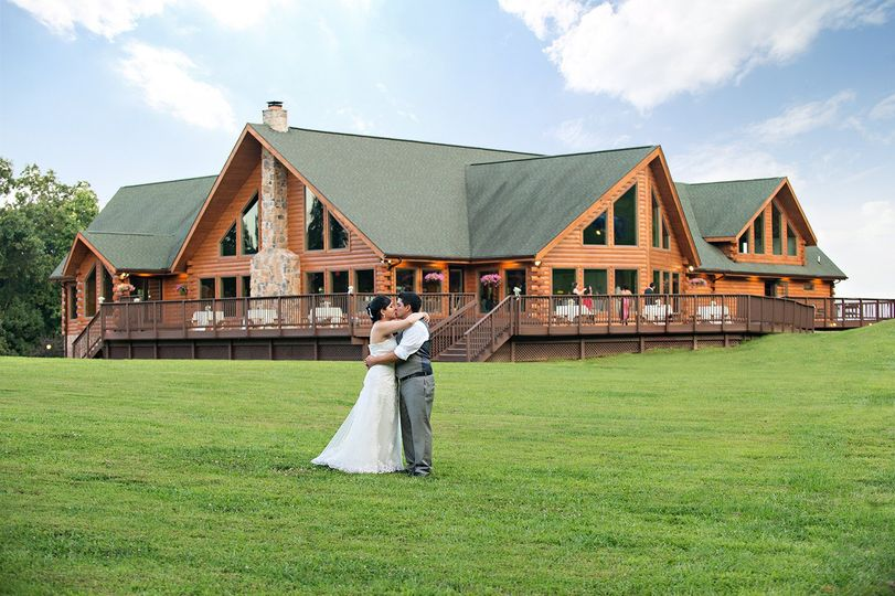 bdb89eb853 Exterior view of the Liberty Mountain Resort Couple shoot outside the venue