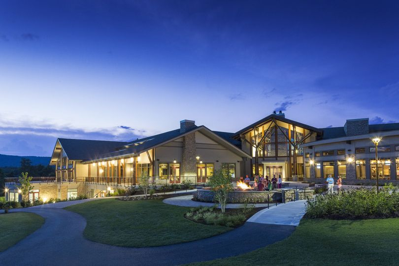 Exterior view of the Liberty Mountain Resort