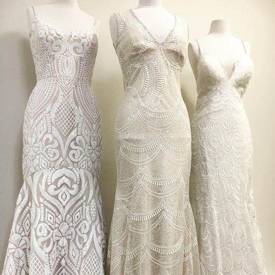 Stylish gowns available