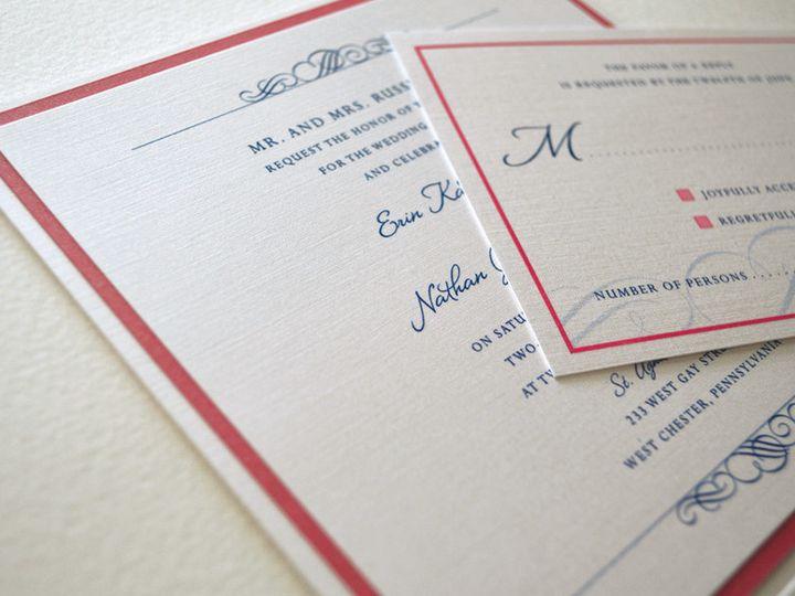 Tmx 1443553195071 Leaf2 Downingtown, Pennsylvania wedding invitation