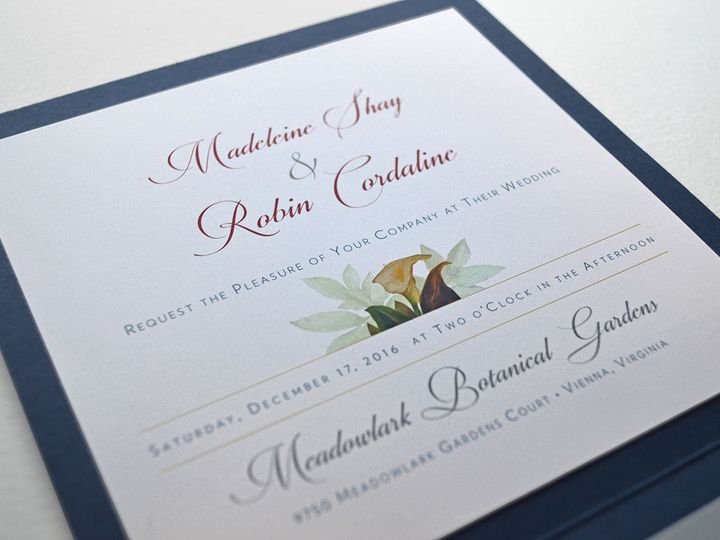 Tmx 1507040609941 Madrobinpocketinside Downingtown, Pennsylvania wedding invitation