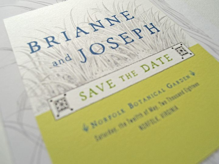 Tmx 1536864361 65268ccd2314daf4 1536864359 D87e1291addb26af 1536864358285 5 BrianneJosephSaveD Downingtown, Pennsylvania wedding invitation