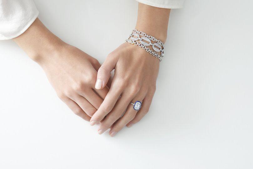 Something Blue ASHOKA diamonds