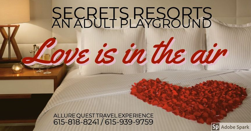 Love at a Secrets Resort