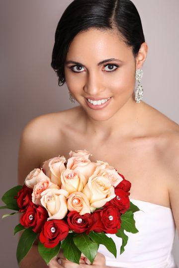 Traditional Bride - Hair & Makeup by:  bridalbyivana.com