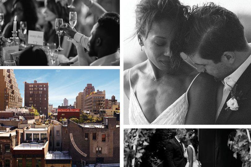 Wedding at the Roxy Hotel