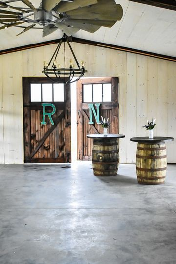 Front doors and barrels
