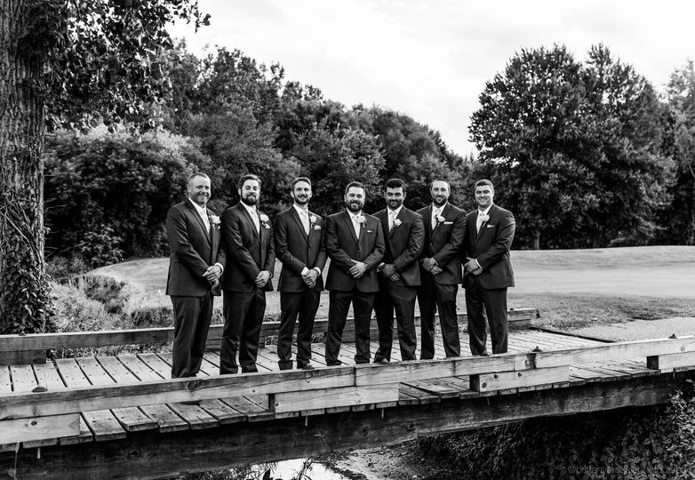 That groomsmen lineup