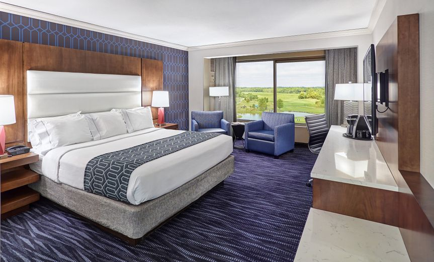 Relax in luxury in one of 586 newly renovated hotel rooms with complimentary wi-fi, valet parking,...