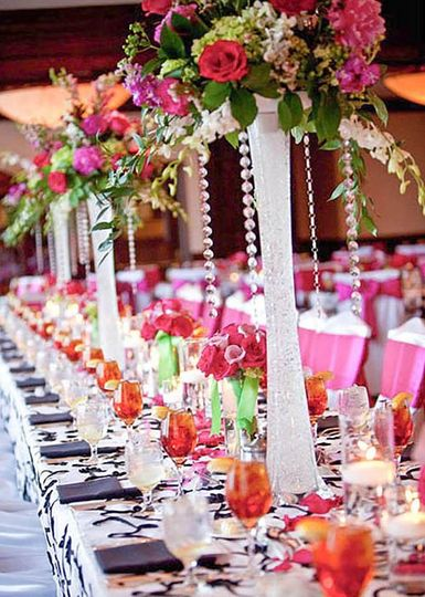 bright reception flowers 51 32473 157893343848249