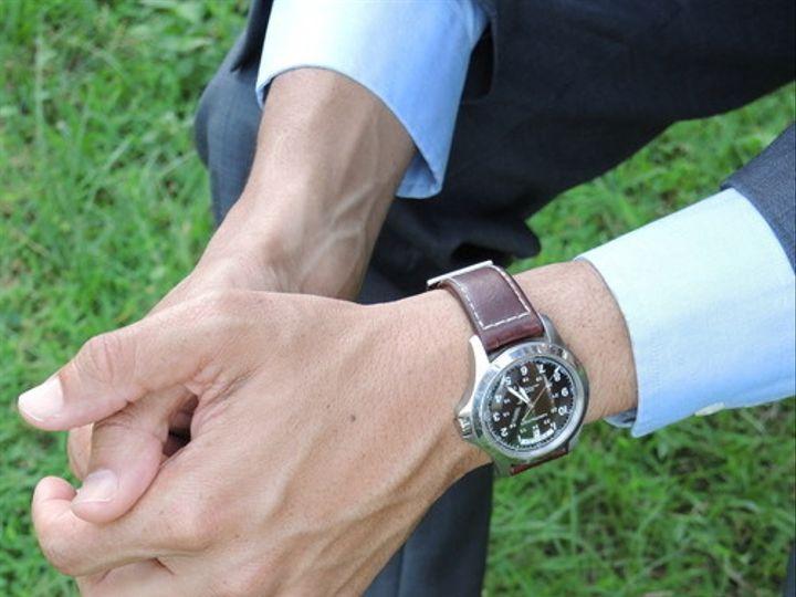 Tmx 1467498704529 Hamilton Khaki Field King Auto On Wrist Orlando wedding favor