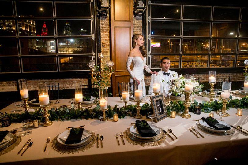 Classic Tuscan Wedding Table
