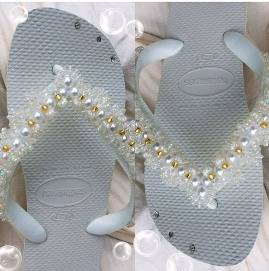 Havaianas made with crystals
