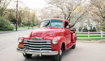 The Old Red Truck