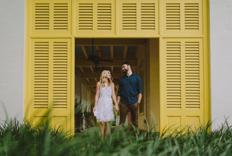 Candid Bonnet House Engagement by La Vie Studios