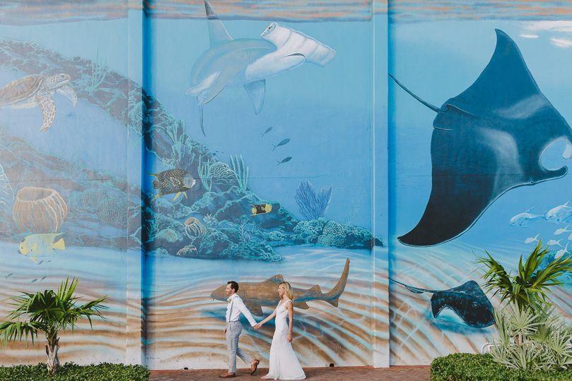 Cool Key West Wedding Photos by La Vie Studios