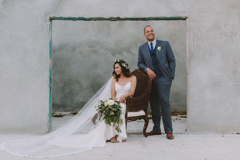 Miami Equestrian Club Styled Wedding Photo by La Vie Studios