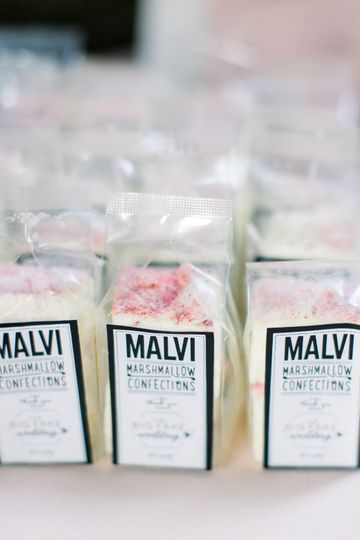 Custom passion fruit mallows