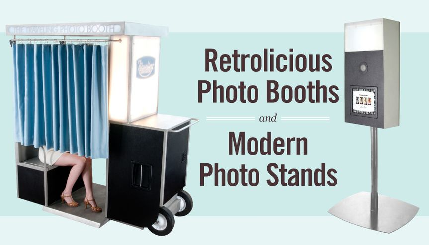 Photo booth and photo stand