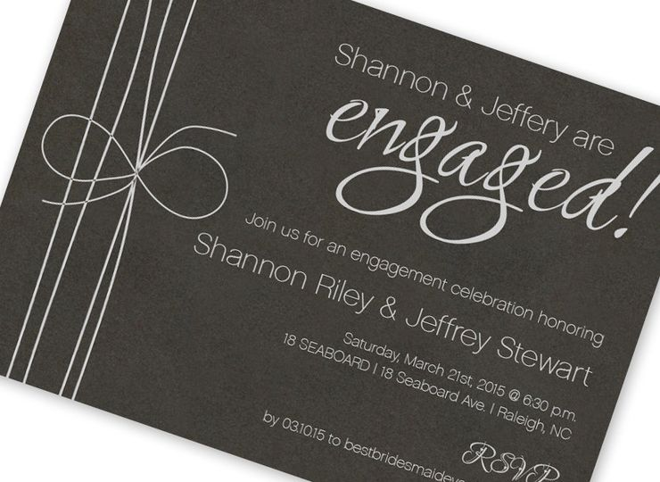 800x800 1421870851461 mg black and silver engagement party invite