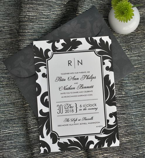 800x800 1421870917293 modern monogram black and white wedding invitation