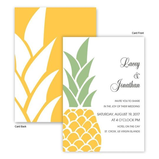 800x800 1421875032155 juliette tropical pineapple beach wedding invitati