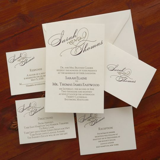 the american wedding, wedding invitations, nationwide, Wedding invitations