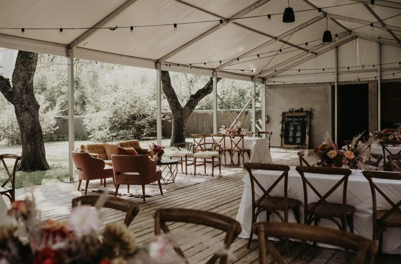 Lounge space at Mattie's