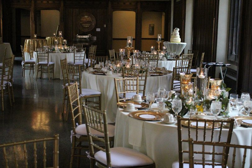 Chapel grecian reception