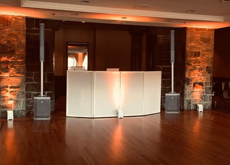 Our new All White DJ Booth