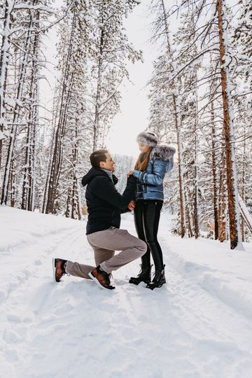Sleigh ride proposal