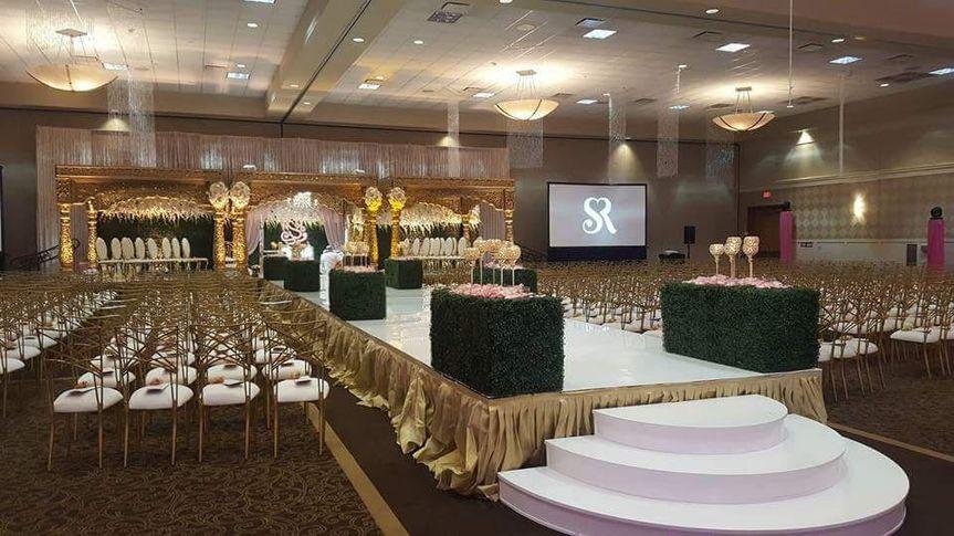 Wedding with HD Projectors