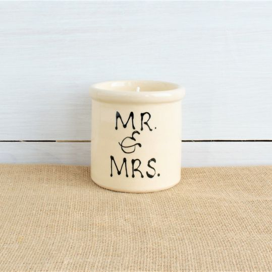 Mr. and Mrs. candle