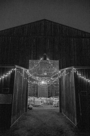 Party Barn Entrance