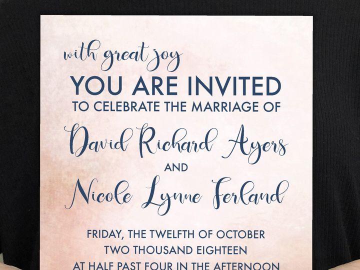 Tmx Castle 51 1032573 Meredith, New Hampshire wedding invitation